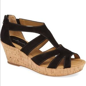 SoftSpots Rhode Sandal In Black 8.5W